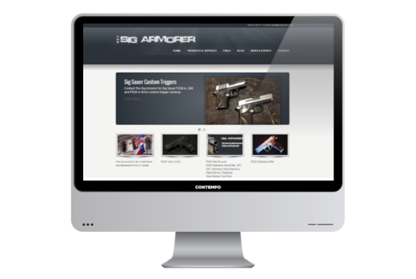 the-sig-armorer-web-design