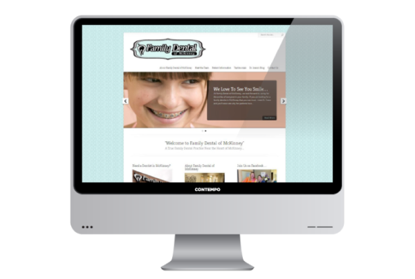 portfolio-wordpress-websites-mckinney-fam-dental